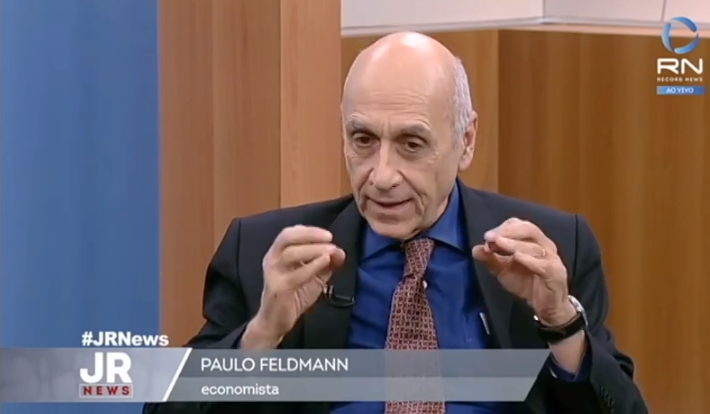 Paulo Feldmann Jornal da Record