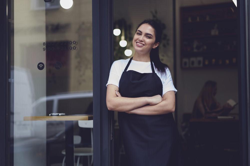 empreendedorismo empreendedora feliz