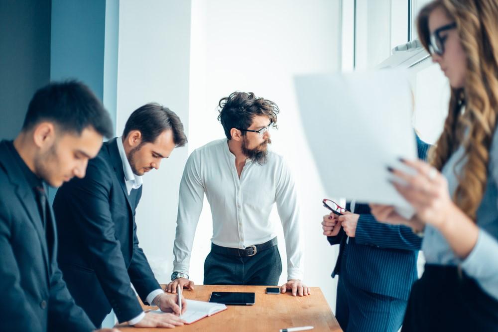 empreendedorismo reunião executiva